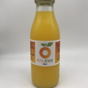 OJ's Juice - 100% Freshly Squeezed Orange Juice