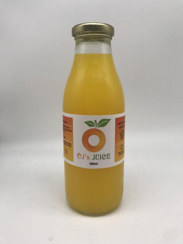 OJ's Juice - 100% Freshly Squeezed Orange Juice