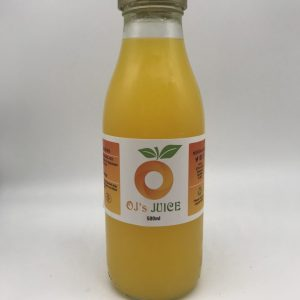 OJ's Juice - 100% Freshly Squeezed Orange Juice 500ml