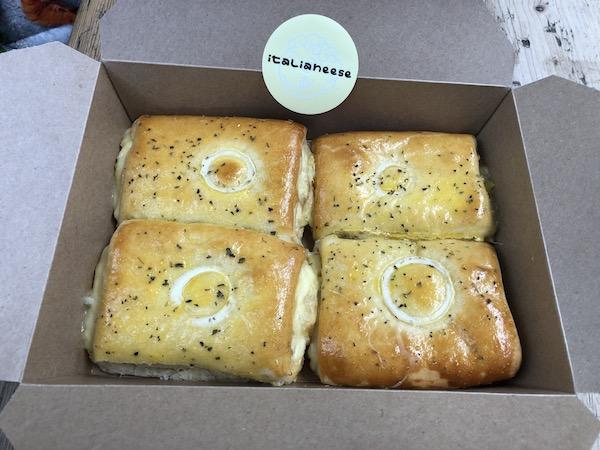 Italianeese - cheese rolls