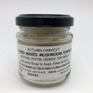 Autumn Harvest Mushroom - Mushroom Powder