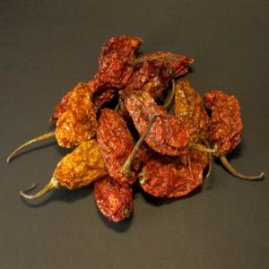 Chilli Pepper Pete's - Naga Ghost (Bhut Jolokia) Whole Dried Chilli 25g
