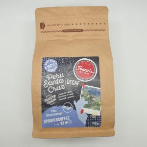 Frazer's Coffee - Peru Santa Cruz Decaf