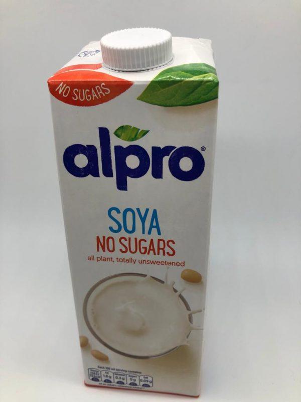 Sheffield Made - Alpro Soya Milk - No Sugars