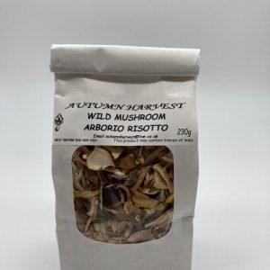 Autumn Harvest Mushroom - Mixed Mushroom Arborio Risotto