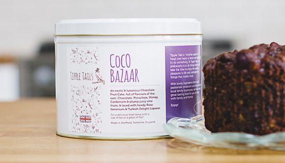 Tipple Tails - Coco Bazaar Fruit Cake