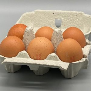Sheffield Made - Yorkshire Free Range Eggs - Medium Sized - Box of 6