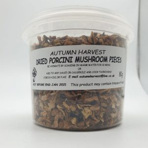 Autumn Harvest Mushroom - Dried Porcini Pieces 80g